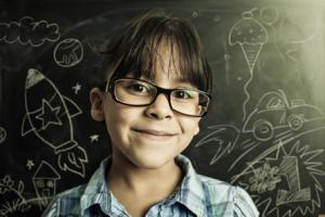 childglassesblackboard